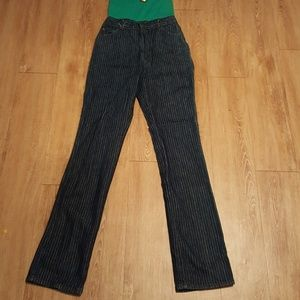 Vintage pinstripe Chic jeans